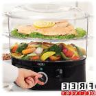 Electric Food Steamer 7.4 Quart Vegetable Meat Rice Bowl Coo