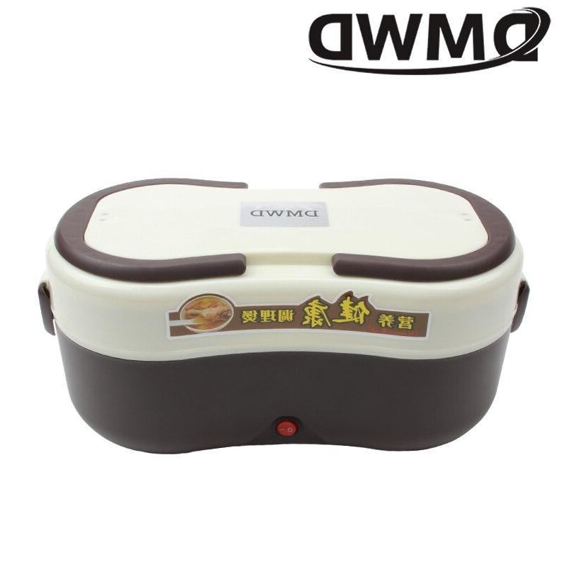 DMWD Electric Heating Box <font><b>Rice</b></font> Porrdige <font><b>Slow</b></font> <font><b>Cooker</b></font> Steamer Lunchbox Soup Meal