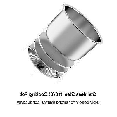 Electric Mini Multi Pressure Rice Programmable Pot 2qt