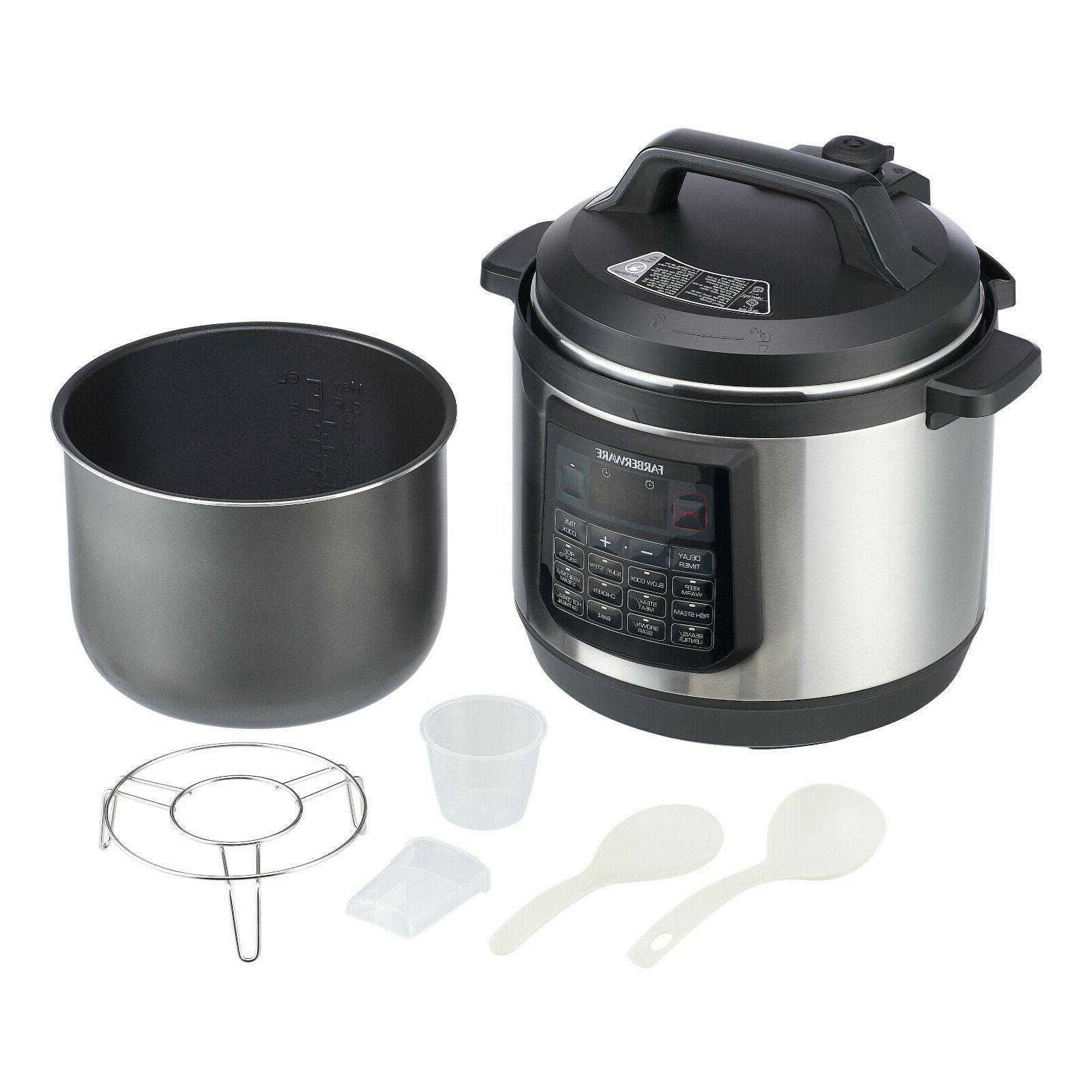Electric Pressure Cooker in Quart Cookers Pot