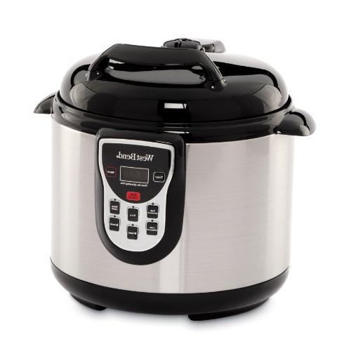 electronic 6 qt pressure cooker