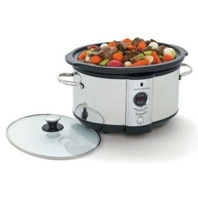 electronic slow cooker