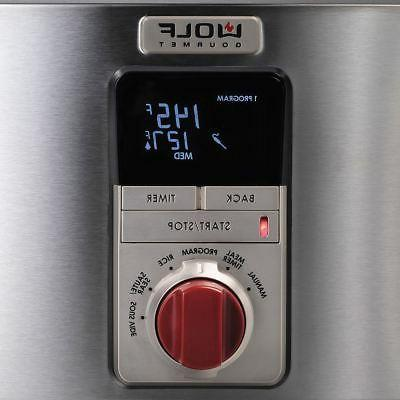 WOLF Gourmet WGSC100S, Multi Function Cooker,