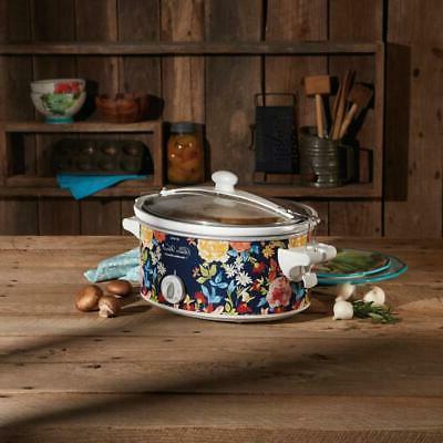 Hamilton Beach Woman Crock Portable Cooker Flora