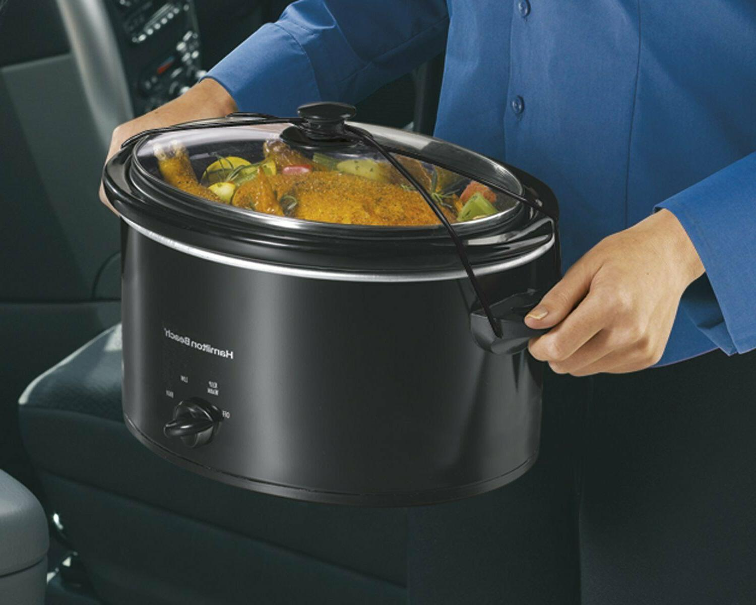 Slow Cooker, 5-Quart, -