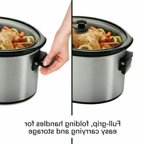 Hamilton Beach Cooker 10 Crock Pot Stoneware Appliance