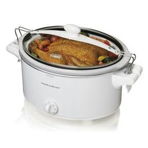 hb slow cooker white