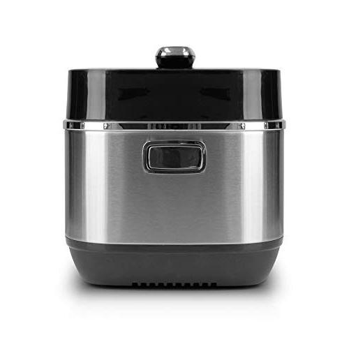 Healthy Cuisine 6 Electric Induction Basket LED Touch Selection Menu - Premium Quality