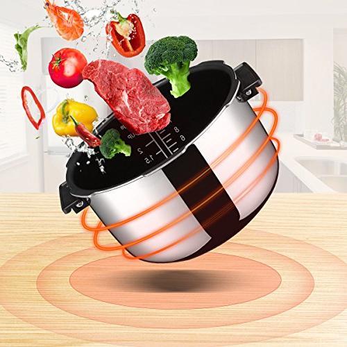 System, Housmile Rice Cooker Pressure 5 Quart