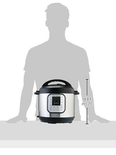 Instant Pot DUO60 Qt Multi-Use Pressure Cooker,