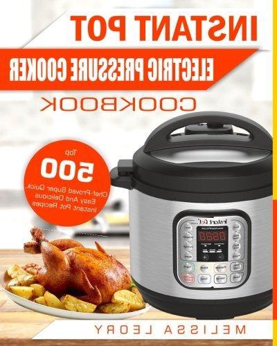 instant pot electric pressure cooker cookbook top 500 chef p