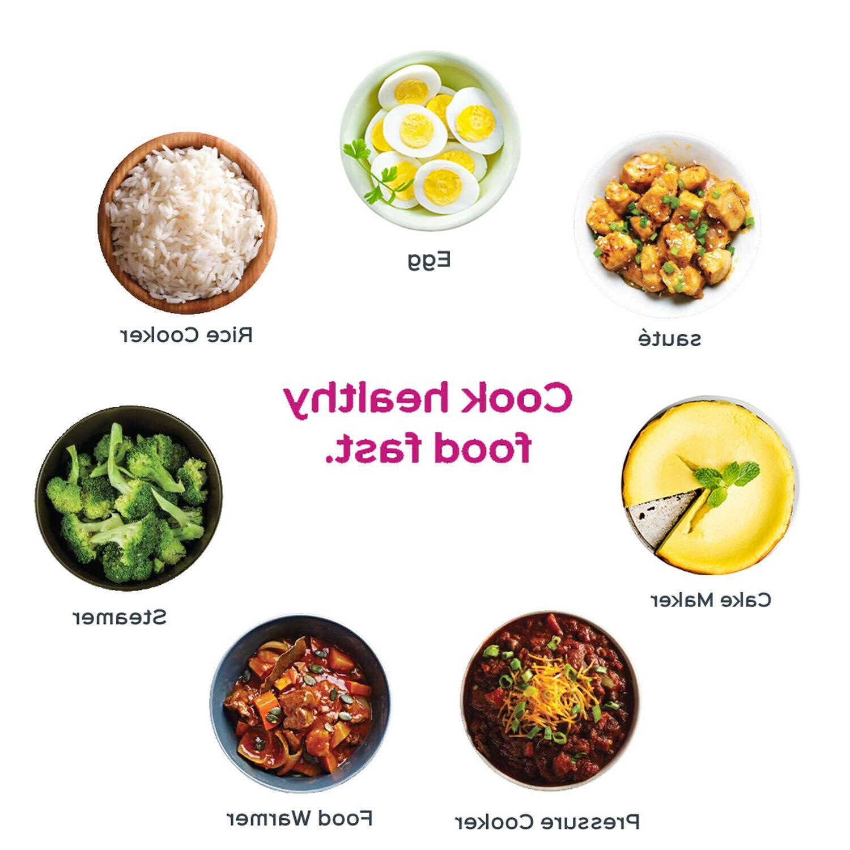 Instant Pot LUX60 6 Qt Programmable Cooker,