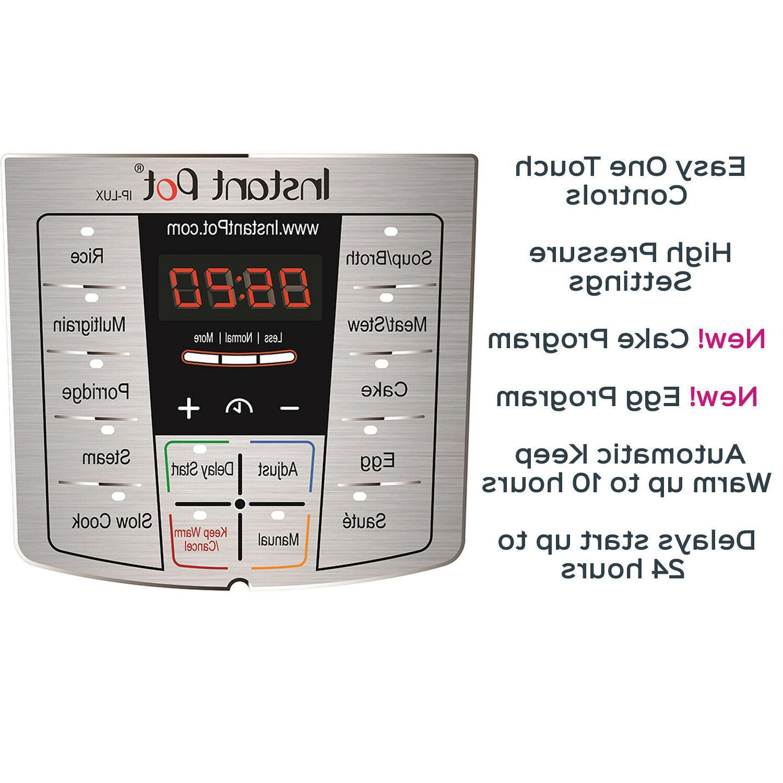 Instant 6 Qt Multi-Use Programmable Pressure Co