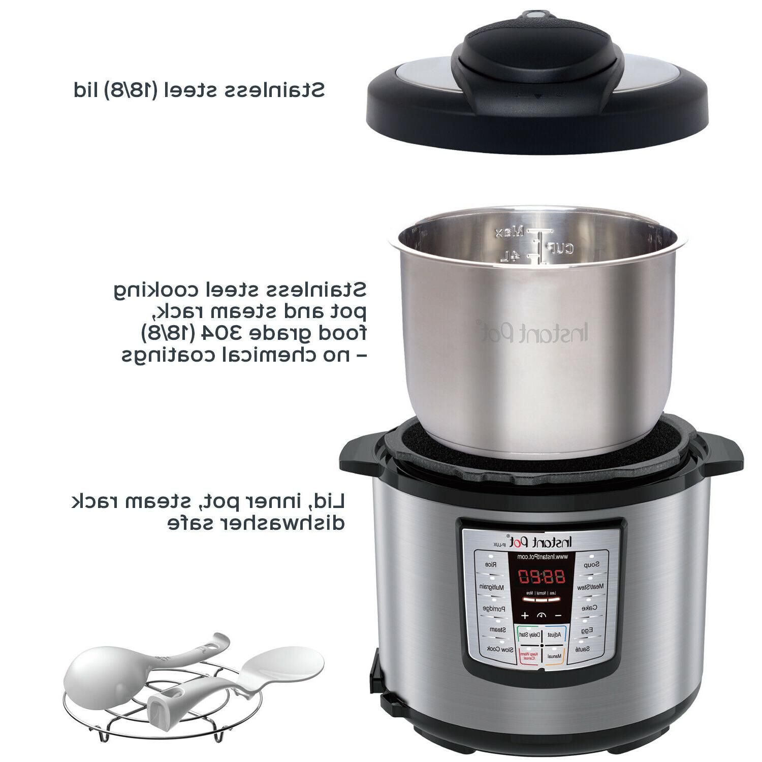 Instant 6 6-in-1 Multi-Use Programmable Cooker, Co