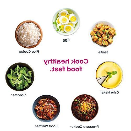 Instant Qt Programmable Cooker, Cooker, Cooker, Steamer, Warmer
