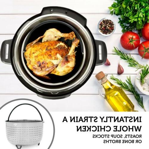Steamer Basket Pot - QT Cooker Instapot