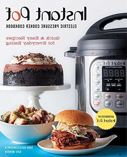 instant potr electric pressure cooker cookbook quick easy re