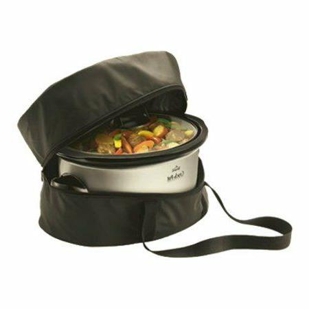 Insulated Crock-Pot Oval-Shaped Travel Bag