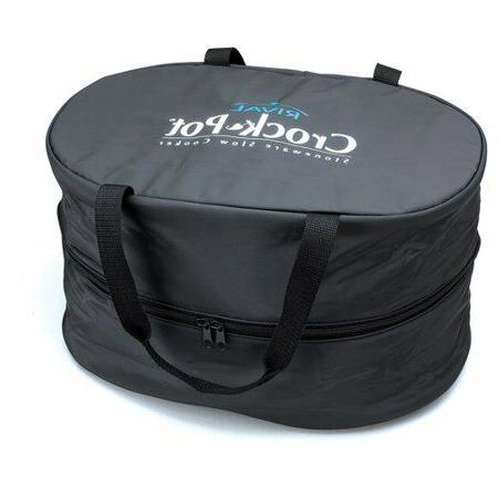 Insulated Oval-Shaped Cooker Travel