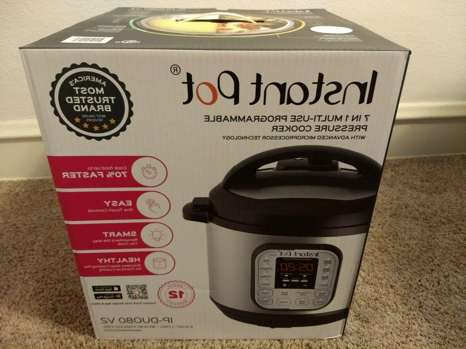 Instant 8 Quart 🔥 🔥 Programmable Pressure Cooker Slow New