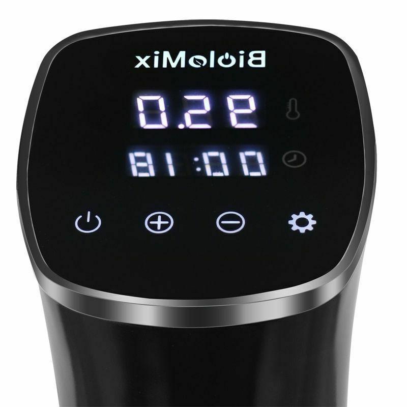 Biolomix IPX7 Waterproof Circulator Cooker LCD