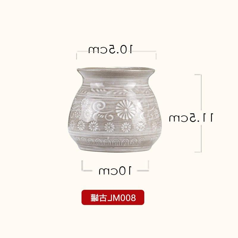 Japanese pot ceramic bird's nest soup milk