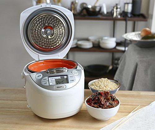 Tiger JAX-S10U-WY 5.5-Cup Rice Cooker Warmer, Steamer,