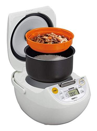 Controlled 1 Rice Cooker, , White & Premium Silicone Set Bundle