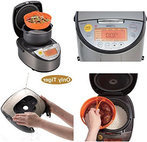 Tiger Corporation JKT-S18U-K Rice Cooker and Bread Stainless