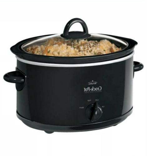 Kitchen Pot 4 Oval Slow Cooker Home Cooking