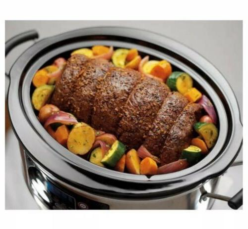 Hamilton 5-Quart Slow Cooker, Healthy Home
