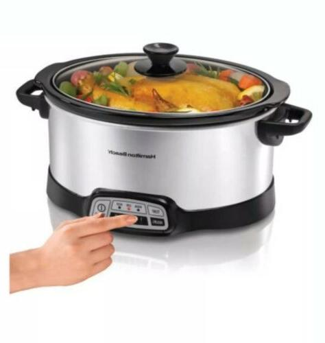 Hamilton Kitchen Programmable 5-Quart Home Cooking