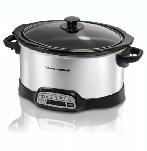 kitchen programmable 5 quart slow cooker healthy