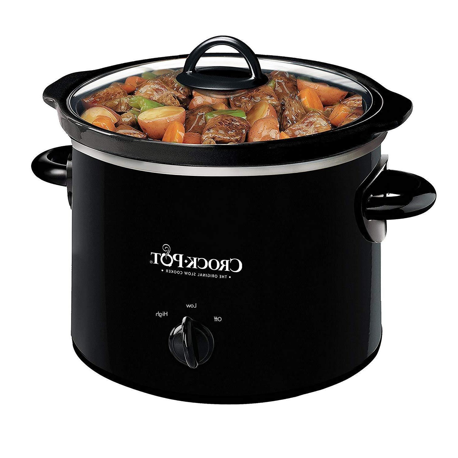 kitchen small cooking crock pot 2 quart
