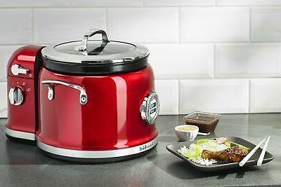 KitchenAid KMC4244CA Candy Apple Multi-Cooker with Tower, 2-5