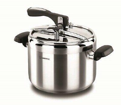 korkmaz turbo stainless steel pressure cooker silver