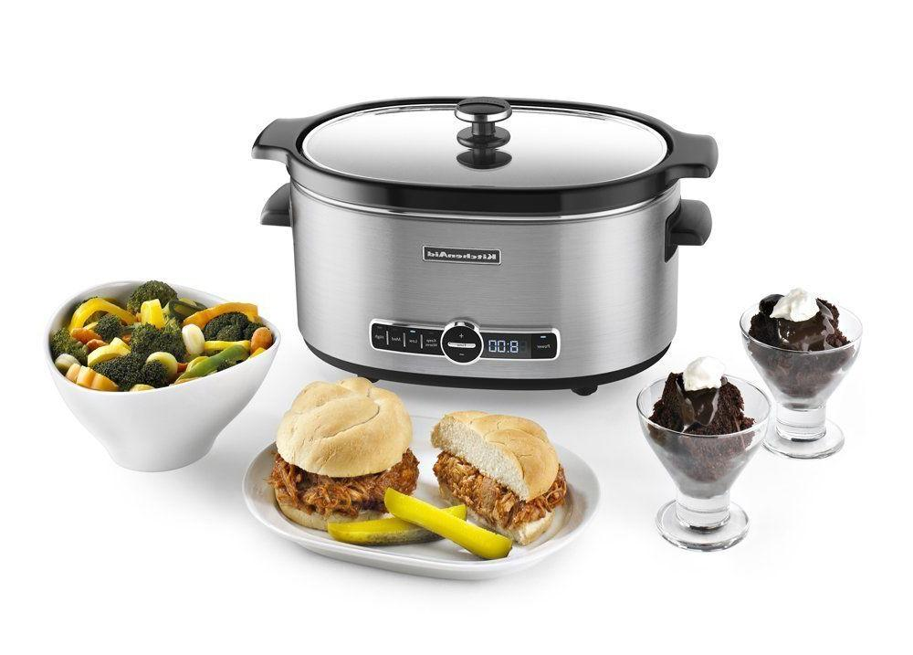 KitchenAid 6-Qt. Cooker with Standard Lid -