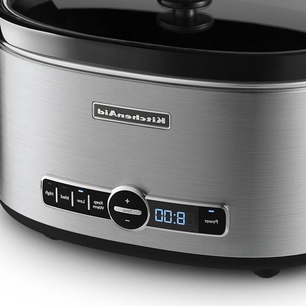KitchenAid KSC6223SS Slow Cooker with - Stainless