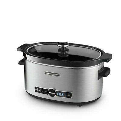 ksc6223ss stainless steel 6 quart slow cooker