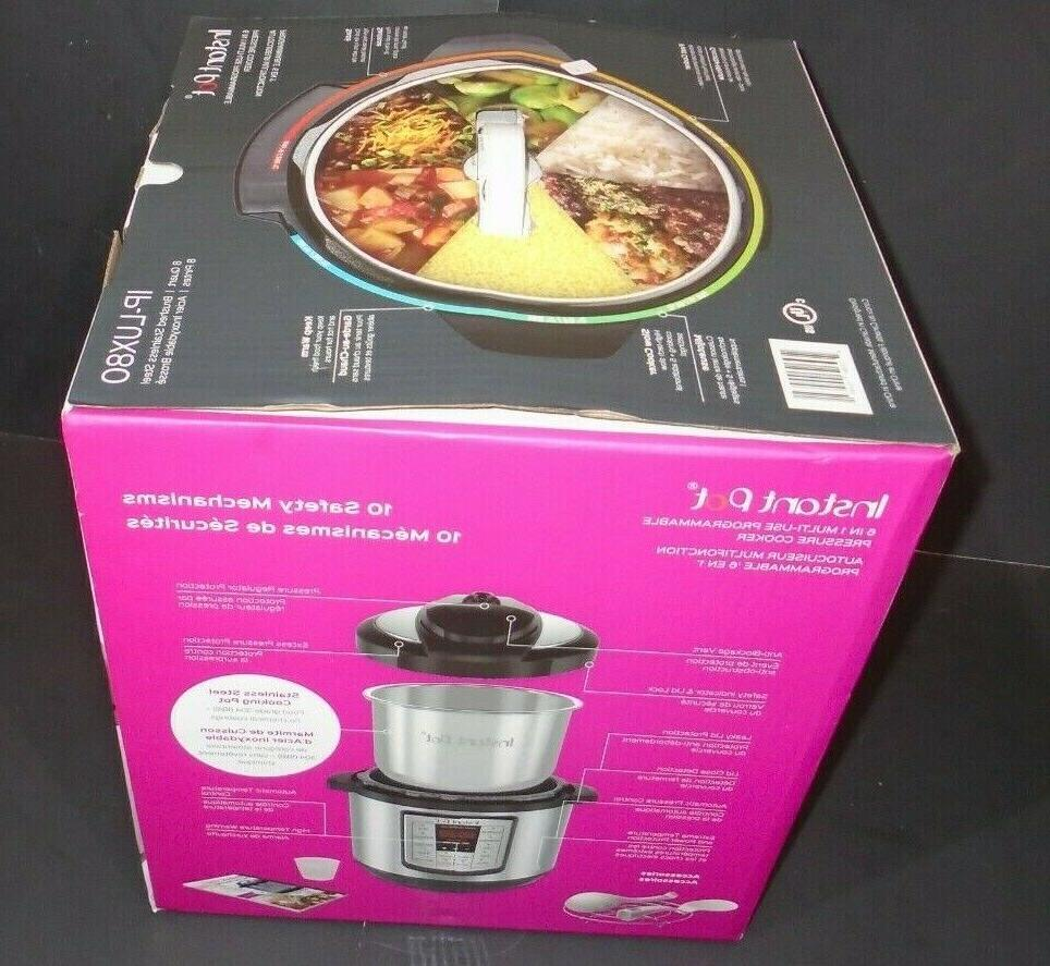 Instant Pot Large Qt Use Pressure Cooker,Slow NEW