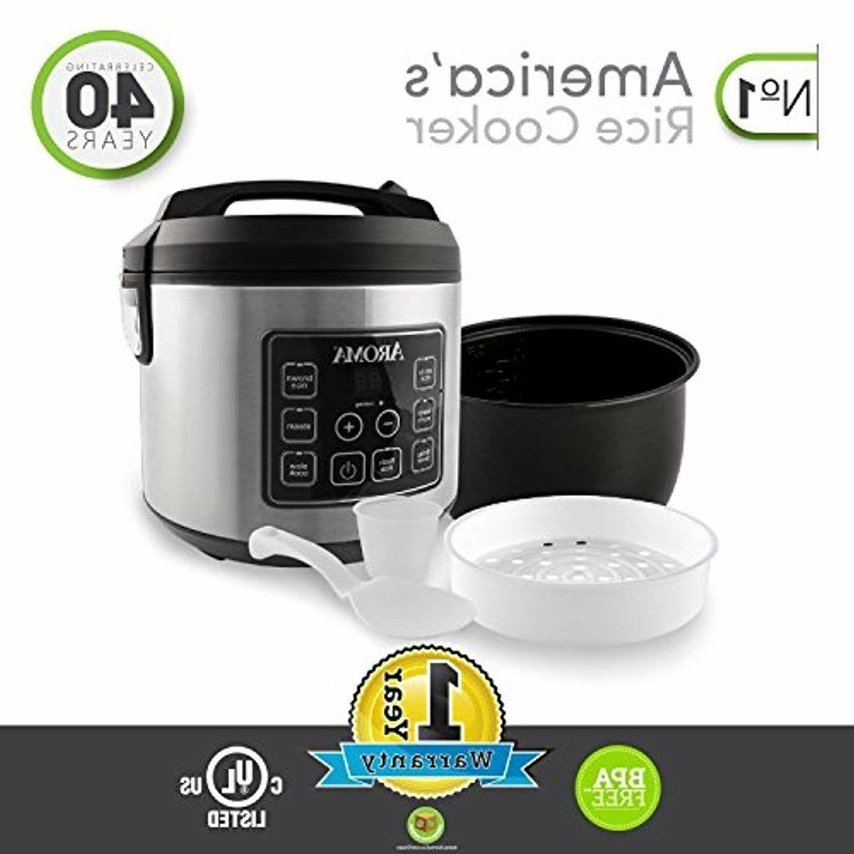 Aroma Housewares 20 Cooked Rice Cooker, Slow