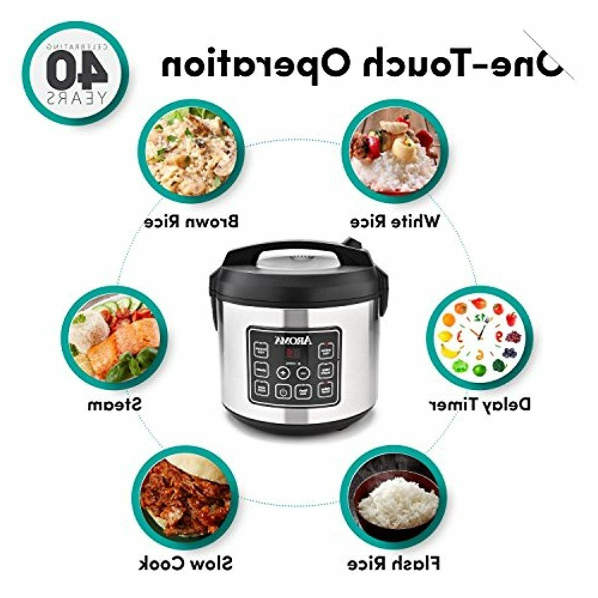 Aroma Housewares Cooked Digital Slow Cooke