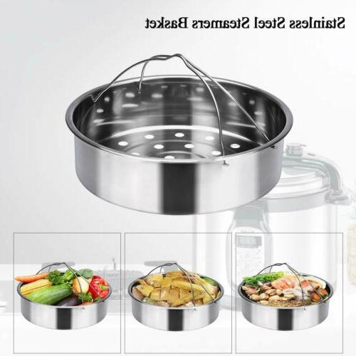8 Pack Accessories Fits 5,6,8qt Cooker+Cooking