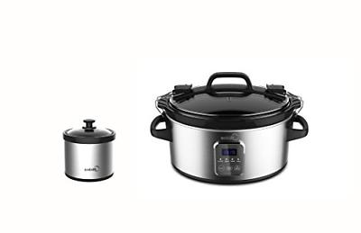 locking lid slow cooker 6 quart