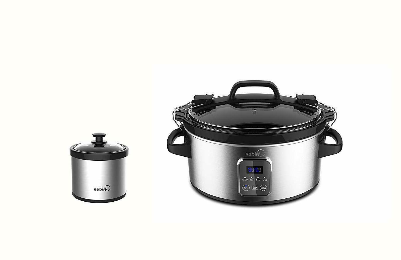 locking lid slow cooker 6