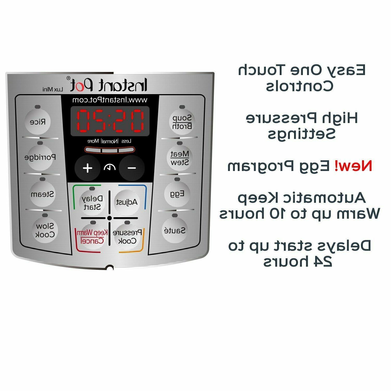 LUX Mini 3 Pressure Cooker, Cooker..
