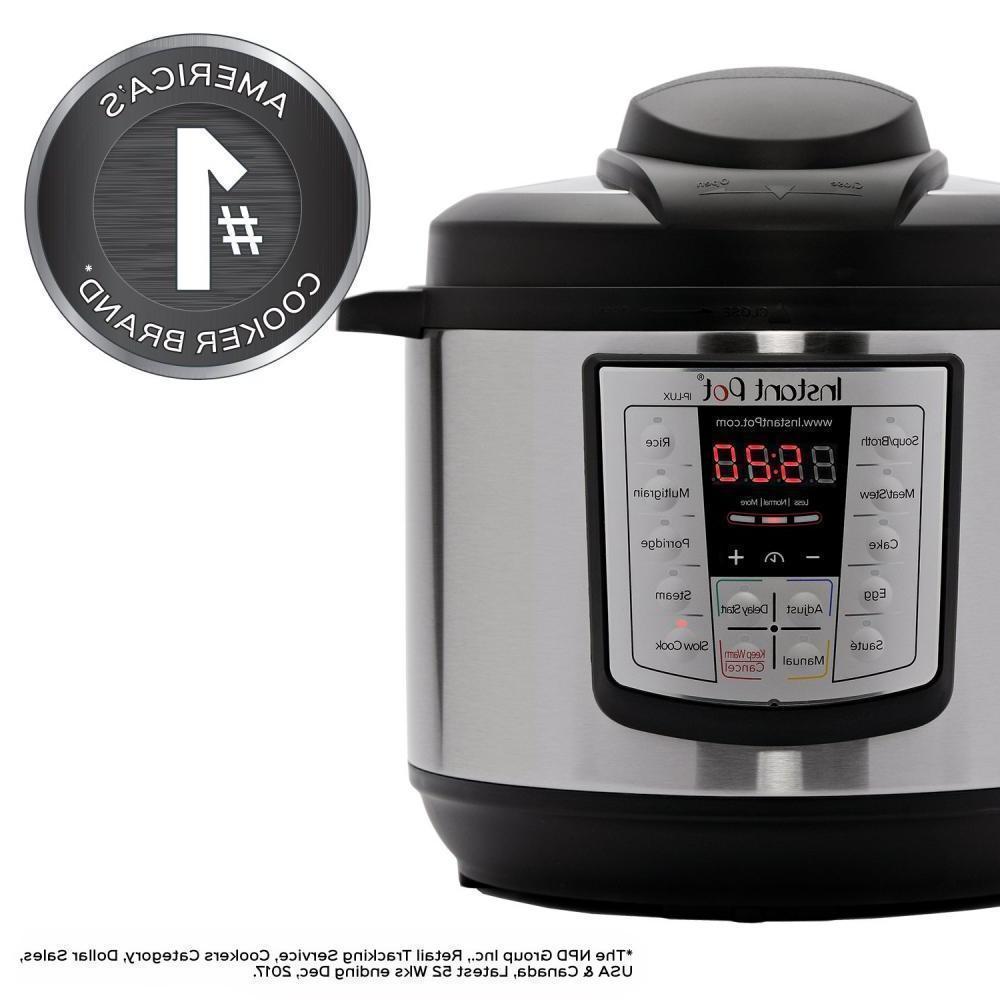 Instant Pot 8 Qt Programmable Pressure and Cooker