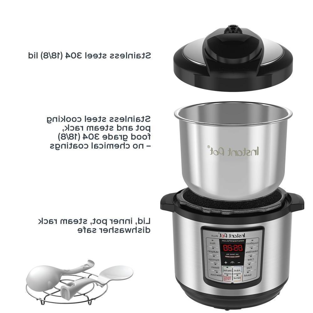 Instant 8 Qt Programmable Pressure Cooker