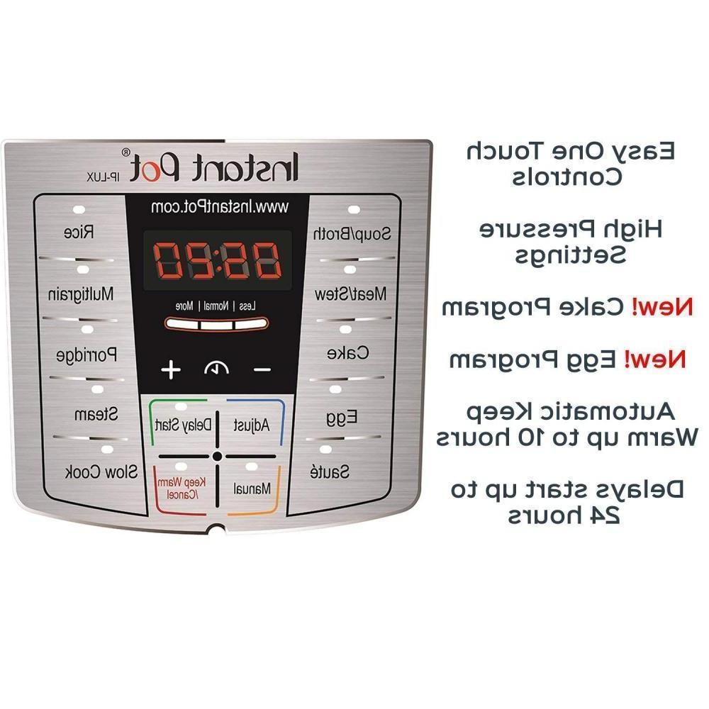 Instant LUX80 Qt 6-in-1 Programmable Cooker