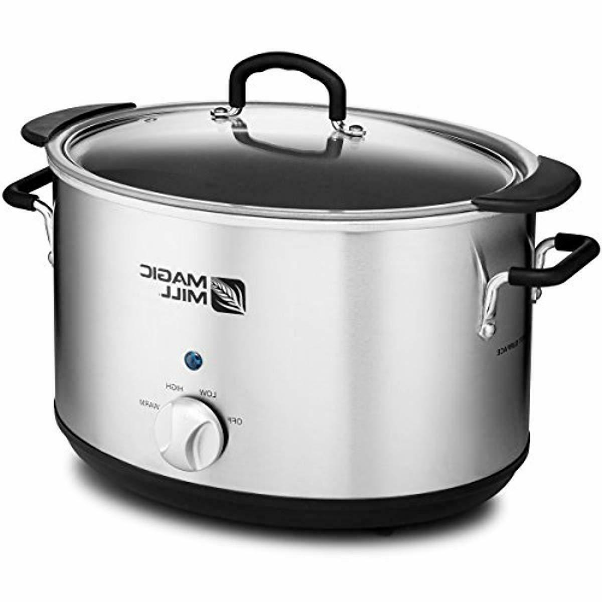 Magic Slow Cooker Heat Removable Stainless